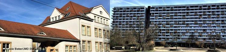 Ansichten aus Stuttgart Hallschlag