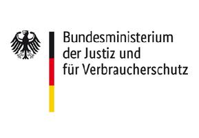 Logo: Bundesministerium der Justiz und für Verbraucherschutz